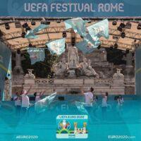 La Nazionale LIS Official Artist della Fan Zone EURO2020